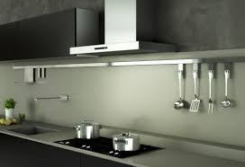 modern kitchen utensils appliances modern stainless steel wallmount range hood over