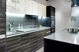 Exotic Kitchen Cabinets I Like The High Gloss Wood Grain Some Bathroom Ideas Pinterest