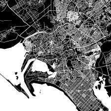 map of karachi karachi pakistan downtown vector map hebstreits