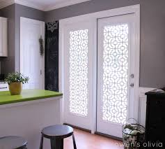 awesome french door window treatments in simple home decorating