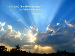 what day did god create light creation project screen 2 on flowvella presentation software for