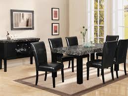 Silver Dining Room Black Dining Room Set Black And Silver Dining Room Set Black