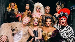 Seeking Feather Cast The Cast Of Rupaul S Drag Race All Drops By To Discuss