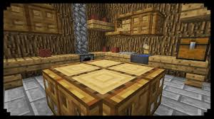 How To Make A Table In Minecraft Kitchen Excellent How To Make Kitchen Furniture In Minecraft