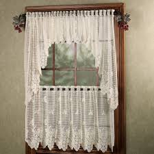 Italian Themed Kitchen Curtains by Vineyard Grapes Lace Window Treatment
