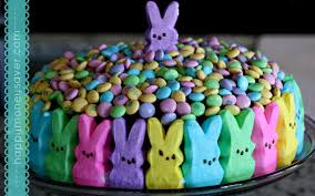 Decorating Easter Cake With Peeps by Peeps Easter Cake The Cutest Easter Cake I U0027ve Ever Seen