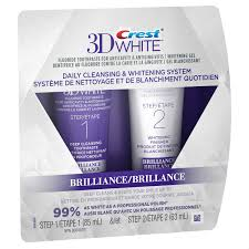 toothpaste whitening crest 3d white brilliance daily cleansing toothpaste and whitening