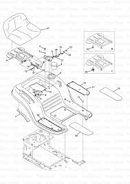 mtd 13w2775s231 lt4200 huskee lawn tractor 2013 seat