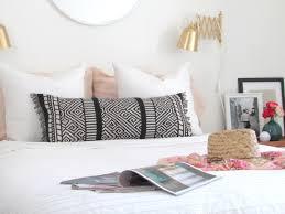 how to make table runner at home make a boho lumbar pillow from a table runner francois et moi