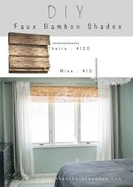 Outdoor Bamboo Curtains Diy Bamboo Shades How To Make A Curtain Blinds Home Diy On