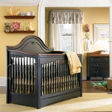 Black Convertible Crib Marcella Convertible Crib In Antique Black Cherry Molding And