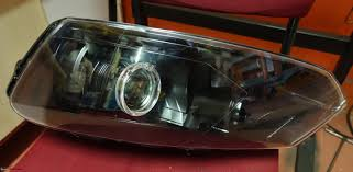 volkswagen polo headlights modified installed bi xenon projectors on my vw polo gt tsi edit
