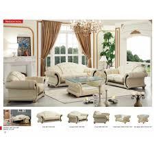 Top Grain Leather Living Room Set Top Grain Leather Living Room Set With Contemporary Luxury