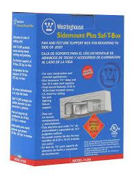 westinghouse lighting 0125000 sidemount plus fan 1 1 2 inch