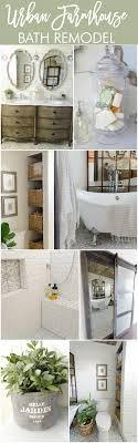 ideas for a bathroom makeover beautiful farmhouse master bathroom remodel