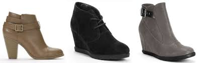 womens booties on sale kohl s sale get 30 on winter boots jackets bedding more