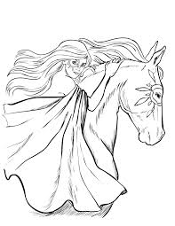 palomino horse coloring pages pictures of horses