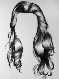 sketches of hair realistic hair drawing by lethalchris on deviantart