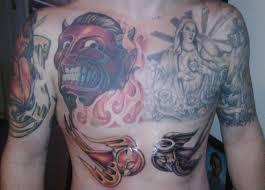 heaven u0026 hell tattoo cover up heaven u0026 hell tattoo cove u2026 flickr