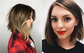 long cut bob haircut how i cut my hair long bob diy youtube