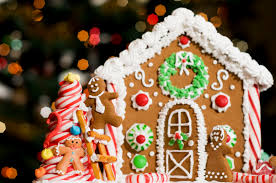 gingerbread houses with mrs claus bok tower gardens