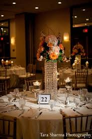 indian wedding planners nj indian wedding reception floral decor centerpiece http