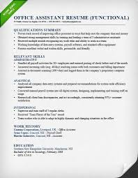 Functional Resume Layout Sample Of A Functional Resume 17 Uxhandy Com