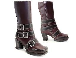 womens boots maur fluevog shoes shop auf der maur burgundy mud black