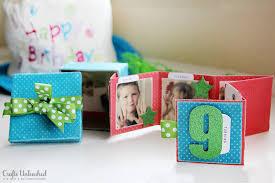 birthday photo album mini birthday album in a box