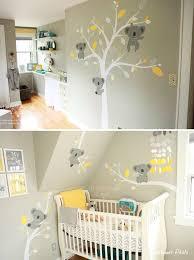 chambre bébé relooking et décoration 2017 2018 stickers koala pour la chambre