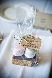 summer wedding favors smores kit freeze chocolate before packaging so it doesn t melt