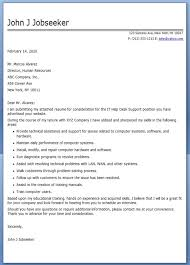 Cover Resume Letter Examples by It Help Desk Cover Letter Sample Creative Resume Design