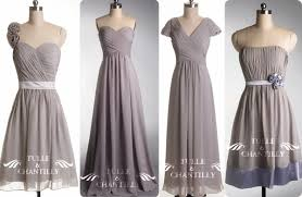 Light Gray Bridesmaid Dress Short Gray Bridesmaid Dresses Gown And Dress Gallery