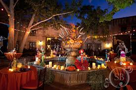 day of the dead decorations dia de los muertos event sedona wedding planners florists and