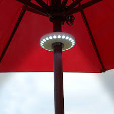 Solar Patio Umbrella Lights by Outdoor Umbrella Lights With Solar Lights Ideas