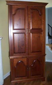 large entertainment armoire with doors entertainment armoire with