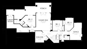 house plans with great rooms mascord house plan 1407 the springbrook