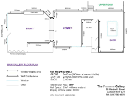 Exhibit Floor Plan Floor Plan The Framers Gallery Gallery For Hire Art Exhibition