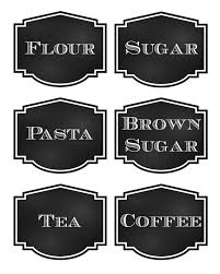 labels for kitchen canisters reorganized simplicity free printable chalkboard style pantry