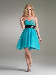 wonderful sweetheart ice blue chiffon short a line beaded and