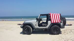 beach jeep driving on the beach with the doors off is something everyone