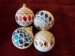 crochet covered ornament ravelry project gallery for