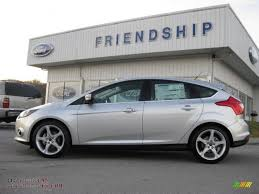 ford focus titanium silver 2012 ford focus titanium 5 door in ingot silver metallic 310959