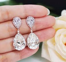 wedding earrings drop wedding jewelry bridal earrings bridesmaid earrings dangle