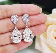 wedding earrings drop wedding jewelry bridal earrings bridesmaid earrings dangle