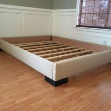 Cal King Platform Bed Frame King Or Cal King Upholstered Platform Bed From Lilykayy On Etsy