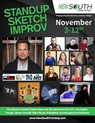 stand up and sketch comedy kickoff the festival new south comedy