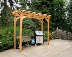 Pergola Kits Cedar by Amazon Com Cedar New Dawn Pergola 4ft X 8ft Patio Lawn U0026 Garden