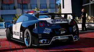 nissan gtr gta v nissan gt r nismo police edition add on tuning gta5 mods com