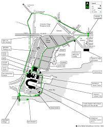 Map Of University Of Washington Trails Recreation